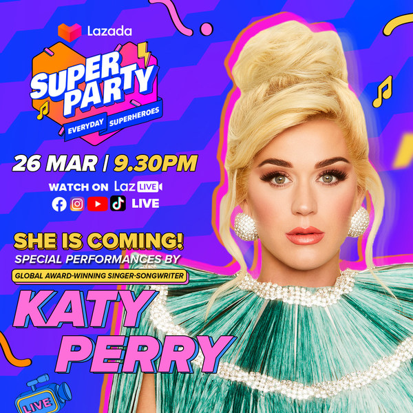 Katy Perry and NCT Dream headline Lazada's 9th Birthday Celebrations