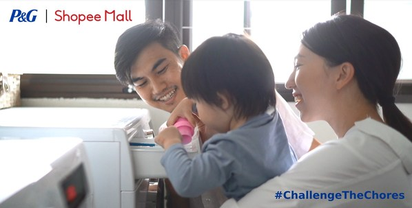 P&G and Shopee collaborate to encourage fair division of household chores in latest #ChallengeTheChores campaign