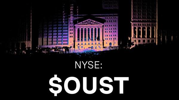 "Ouster完成上市合并,股票代码""OUST"""