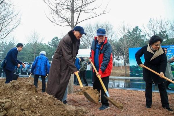坚守环保初心 拥抱绿色未来 华彬文化基金会开展义务植树活动