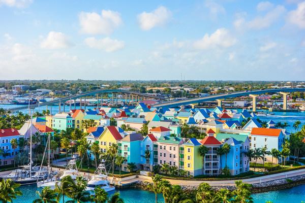 巴哈馬首府拿騷海濱風光