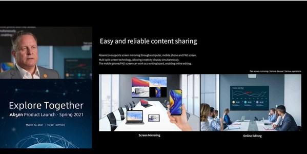 Absen 제품 출시 - MicroLED와 새로운 혁신 제품 시리즈