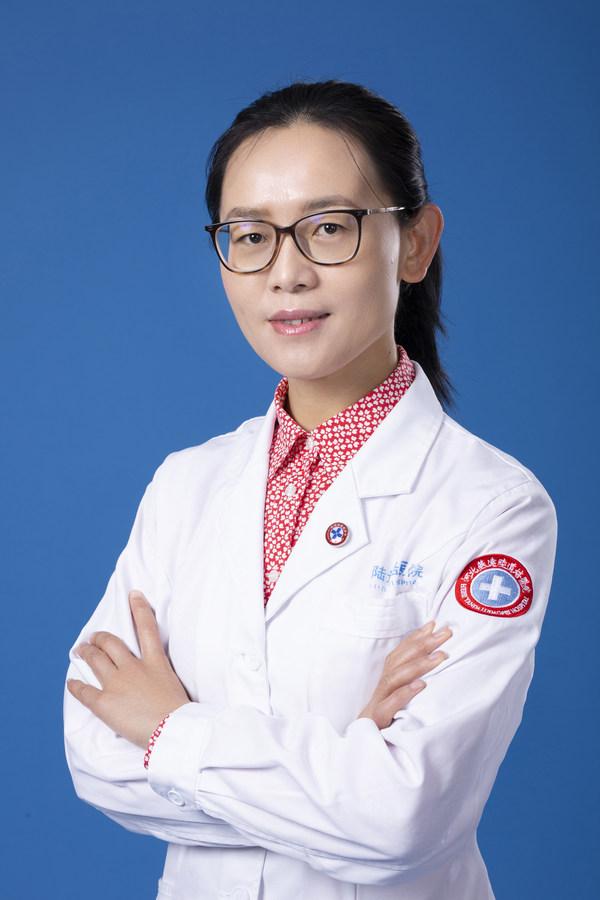 陆道培医院骨髓移植科八病区主任 赵艳丽
