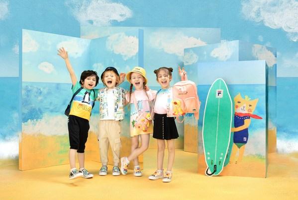 FILA KIDSX携手PEPE SHIMADA打造童趣新品