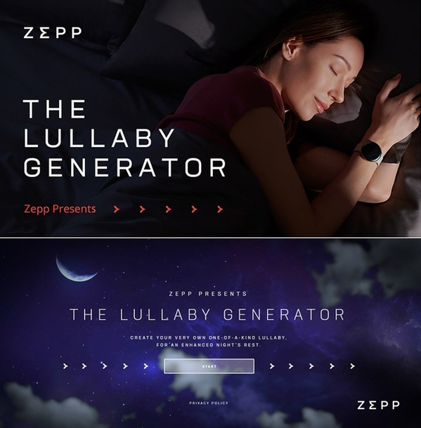 Zepp to Promote Sleep Health Together with the World Sleep Society, Create a Lullaby for You and Your Friends on World Sleep Day