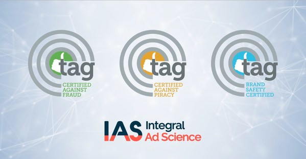 IAS Extends its Leadership in Brand Safety and Ad Fraud Protection with TAG Recertification