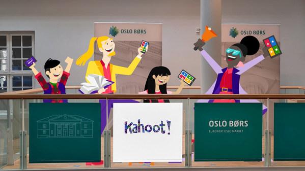Kahoot!がオスロ株式取引所のメインリストで本日取引を開始 : より良い学習環境の提供を目指す企業の記念すべきマイルストーン