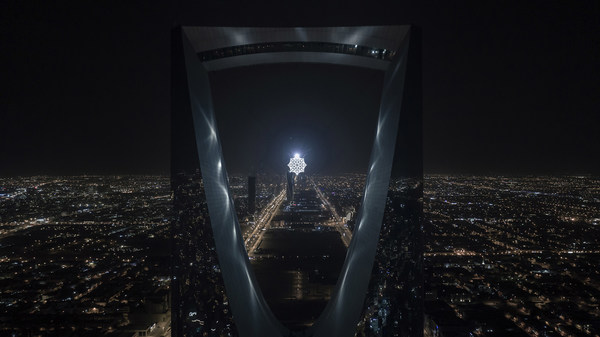 Magnificent light and art festival ready to launch in Riyadh with spectacular installations by more than 60 international artists