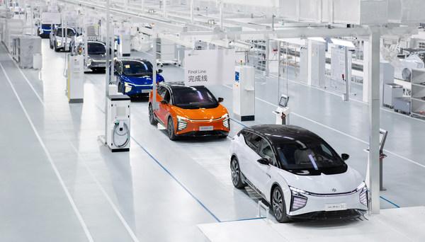 高合汽車城市精品工廠打造智能製造新標桿 HiPhi X量產如期5月交付