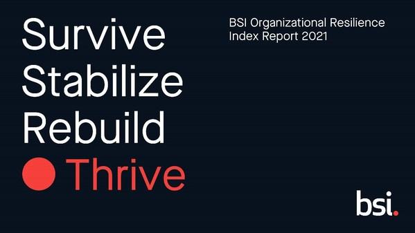 BSI发布第四份年度组织生存力指数报告