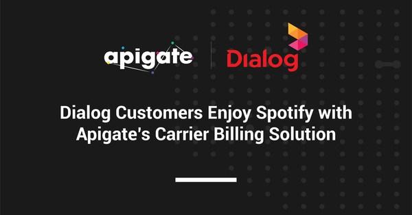 Khách hàng Dialog thưởng thức Spotify với giải pháp Thanh toán qua nhà mạng của Apigate