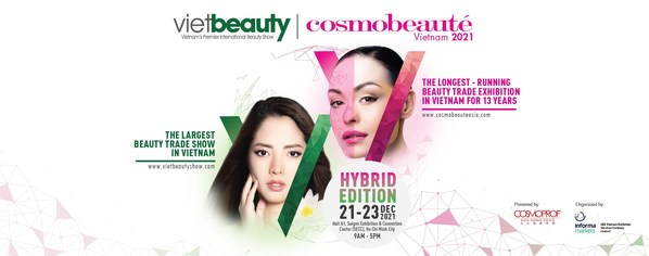 Introducing for The First Time in Vietnam - Vietbeauty & Cosmobeauté Vietnam