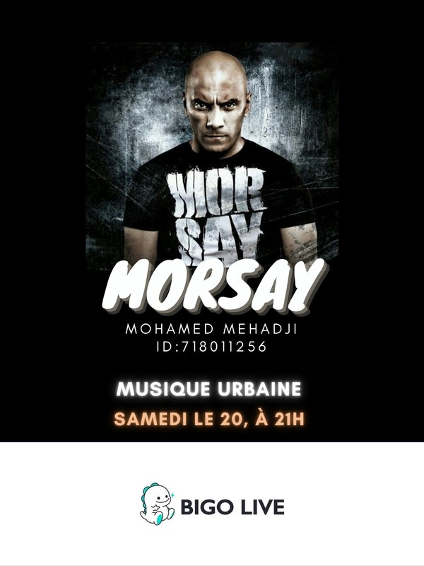 French rapper Morsay joins Bigo Live to build support for entertainers affected by COVID-19.