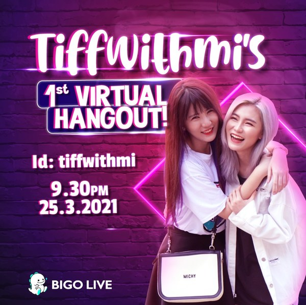 Watch TiffwithMi's First Virtual Hangout On Bigo Live