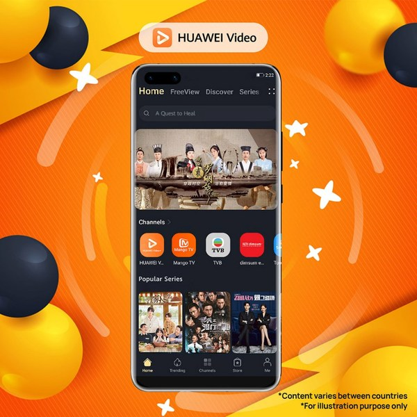 HUAWEI Video, the video-on-demand (VOD) streaming platform by Huawei, is looking to celebrate its first-year anniversary with its fans in Singapore. In conjunction with its anniversary, the streaming platform today announced the launch of its limited-time 'HUAWEI Video Turns 1' contest, where users in Singapore can compete to win Huawei's latest products and free subscription to its service.