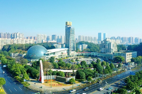 Photo shows the Changsha National Economic and Technological Development Zone.