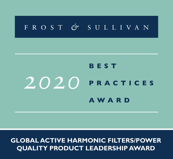Schneider Electric Applauded by Frost & Sullivan for Efficiently Filtering Harmonic Currents within a Facility with its AccuSine+ Platform