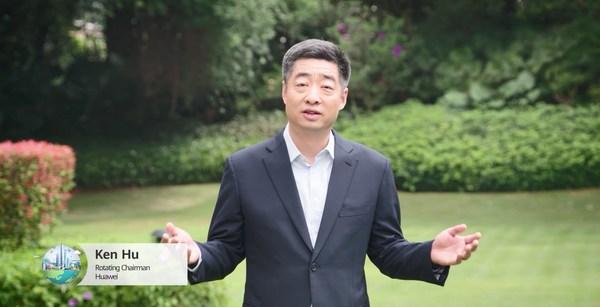 ファーウェイのKen Hu輪番会長