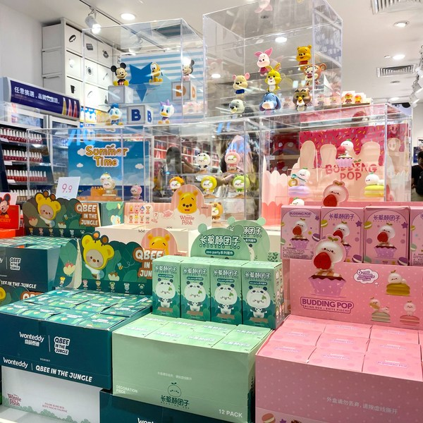 MINISO Releases New Disney Character Blind Box Collection in Singapore to Great Fan Excitement