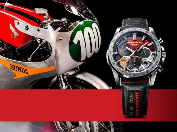 Casio sẽ phát hành dòng đồng hồ EDIFICE Honda Racing phiên bản giới hạn được lấy cảm hứng từ chiếc xe máy Honda RC162 huyền thoại