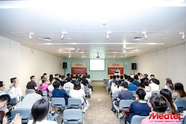 """2020创新技术论坛和法规峰会 -- """"中国医疗器械法规更新与应对""""会议现场"""