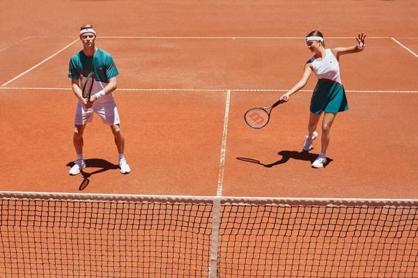 FILA凯旋加冕网球系列场上单品