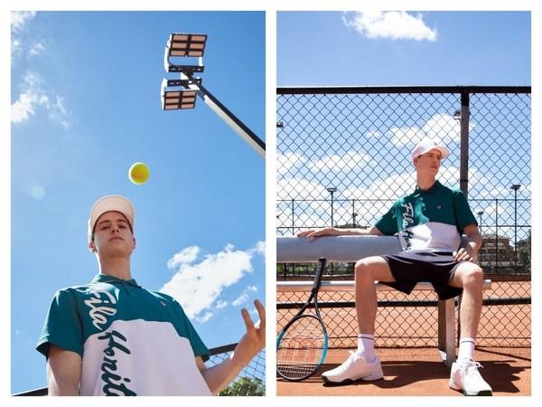 FILA凯旋加冕网球系列场下单品