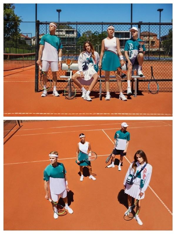 FILA凯旋加冕网球系列