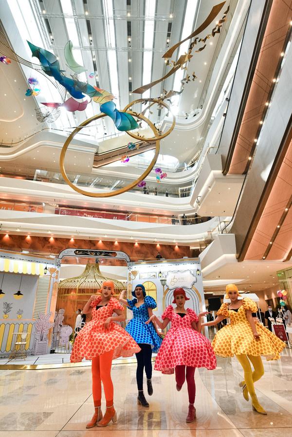 """武汉恒隆广场为武汉的消费者带来一站式购物、休闲及娱乐的恒隆品牌体验,引领武汉生活品位""""一切从新"""""""