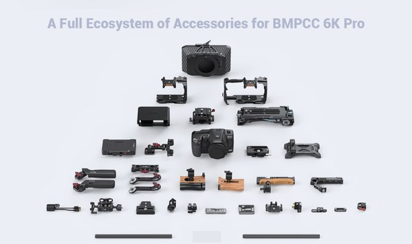 SmallRig BMPCC 6K Pro Ecological Kit is Officially Released, Realizing Outstanding Single Shooting