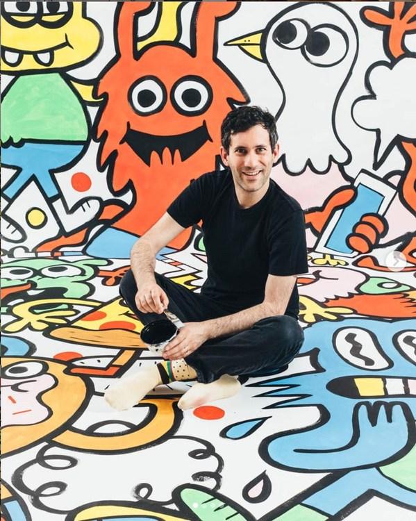 涂鸦画家Jon Burgerman