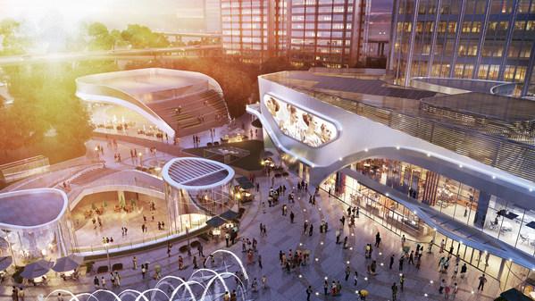 博荟广场One East联手英国艺术顽童打造黄浦滨江全新艺术新地标