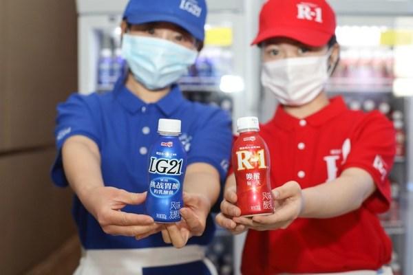 明治佰乐益优系列国内上市,开启益生菌酸奶新时代