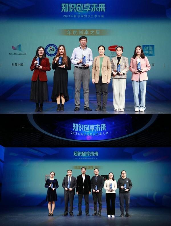 """故宫博物院宣教部、""""科普中国""""等10家机构、媒体、自媒体创作者获得新华网""""年度创享之星""""称号"""