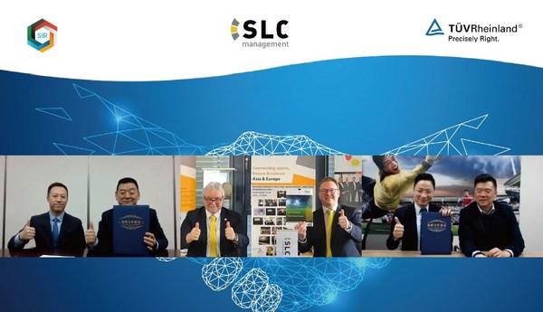 TUV莱茵与华体创研、SLC管理咨询三方达成战略合作