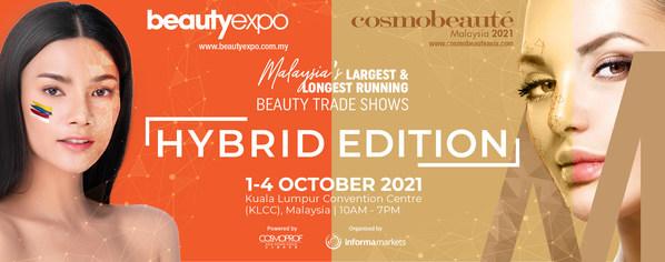第20届beautyexpo和第16届Cosmobeaute Malaysia携手打造美容展