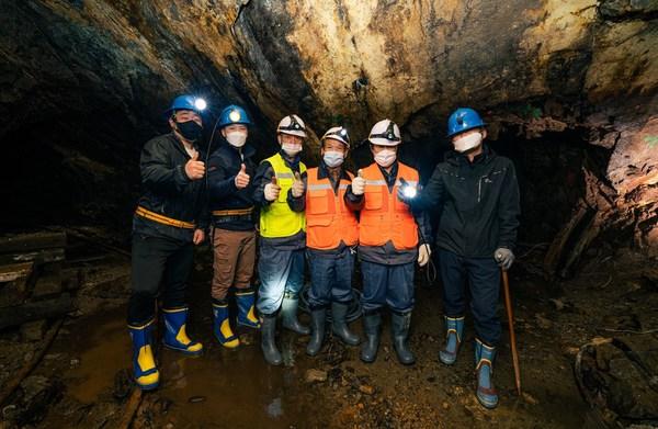 15억 달러(약 15조 원) 국내 거창 광산 프로젝트 현장 작업 시작