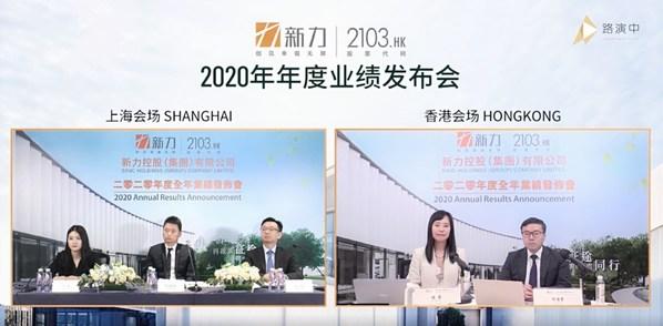 新力控股公布2020年度业绩
