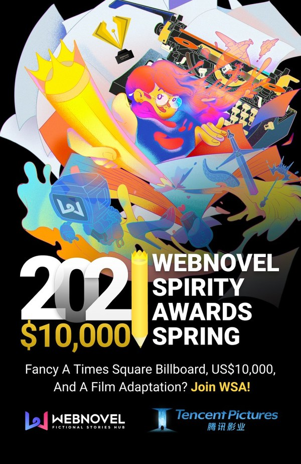 Webnovel Kicks Off Its Largest Writing Contest to Tap North America for Further Growth