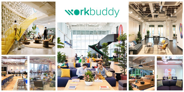 Co-working app, workbuddy, partners with WeWork to provide more flexible, affordable access to Singapore's top workspaces