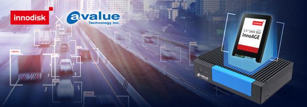 安勤推出的EPC-APL设备搭载宜鼎推出的InnoAGE SSD,将AIoT解决方案导入至台北市智能交通系统中
