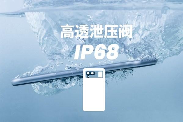 安普鲁高透泄压阀助力手机实现IP68级防尘防水性能