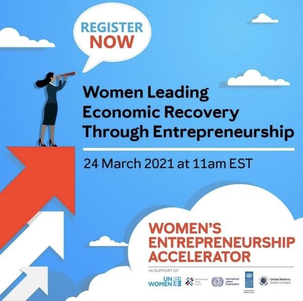 """玫琳凯参与""""女性通过创业引导经济复苏"""""""
