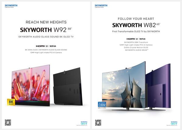 SKYWORTH W82 dan SKYWORTH W92