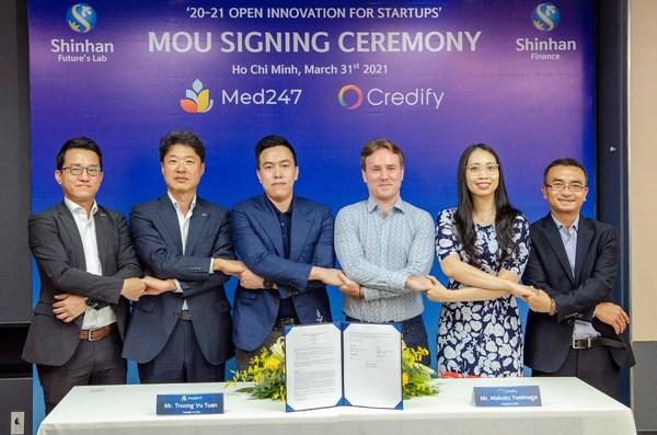 Vào ngày 31/03, Credify và Med247 - một startup hoạt động trong lĩnh vực chăm sóc sức khỏe trực tuyến và ngoại tuyến đã ký Biên bản ghi nhớ hợp tác.