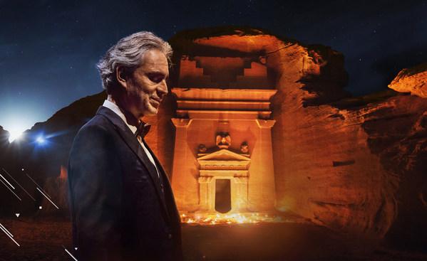 巨匠アンドレア・ボチェッリのヘグラ公演をYouTubeで無料ライブ配信:アルウラ王立委員会