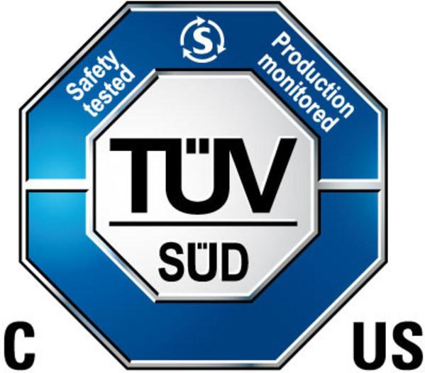 爱普拉锂电智能充电机获TUV南德北美认证证书