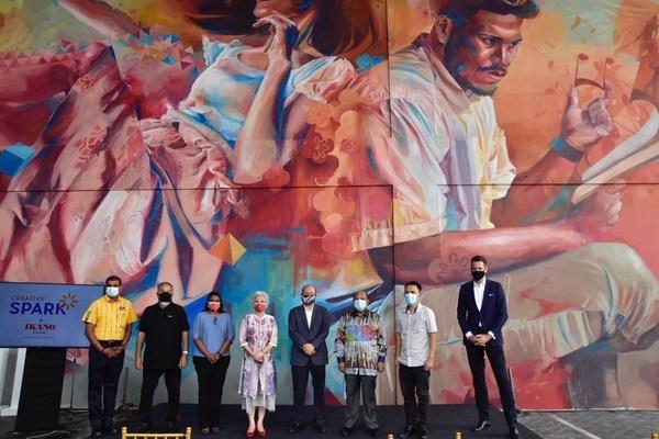 Ikano Centres ignites Creative Spark, an initiative to transform its meeting place in Batu Kawan