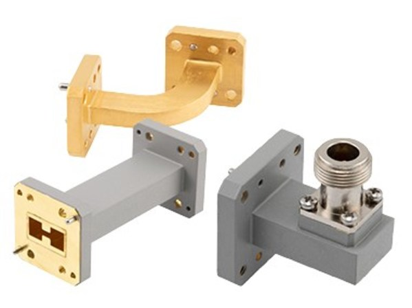 New Waveguide Components Include WRD-180, WRD-650 and WRD-750 Sizes