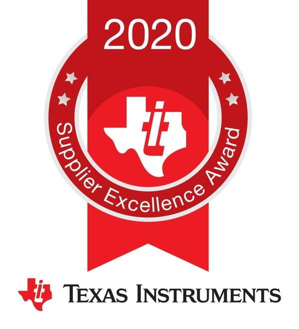 JCET의 자회사, Texas Instruments로부터 2020 Supplier Excellence Award를 수상